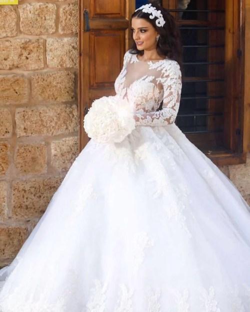 Medium Of Wedding Dresses Lace