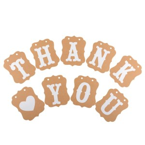 Prissy Thank You Banner Bunting Garlands Thank You Banner Bunting Garlands Wedding Sign Thank You Banner Rose G Thank You Banners Ideas