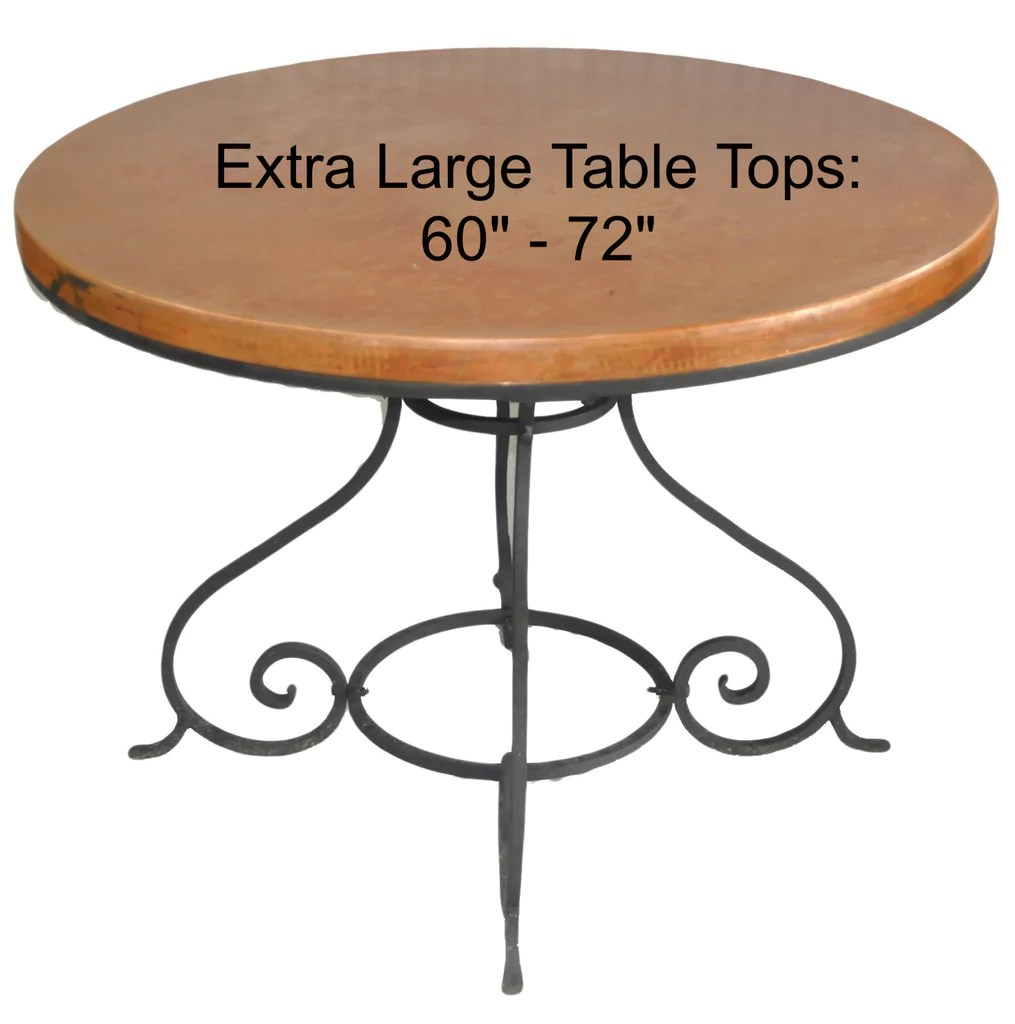 Round Table Tops Extra Large 60