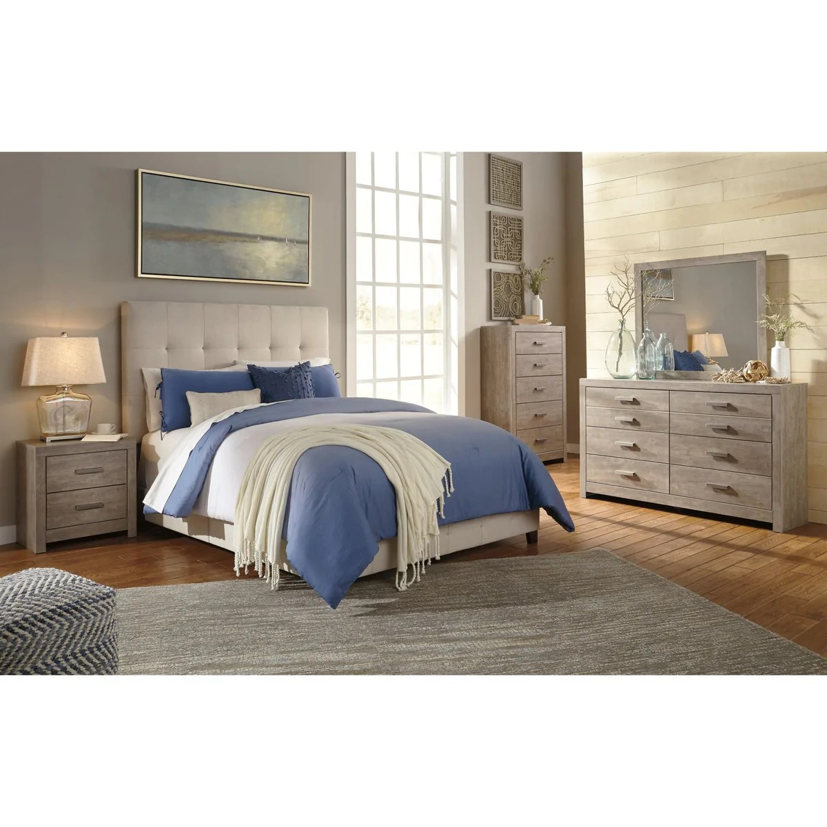 Dolante Upholstered Bed Ashley Homestore Canada