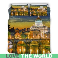 ITALY ROME BEDDING SET 16 E7  1stTheWorld
