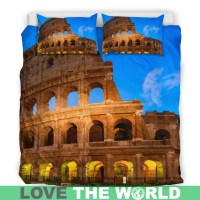 ITALY ROME BEDDING SET 22 E7  1stTheWorld