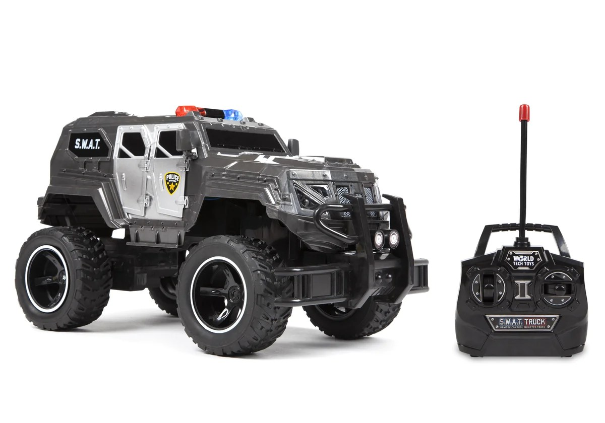 Rtr Rc Trucks Electric S W A T Truck 1 14 Rtr Electric Rc Monster Truck