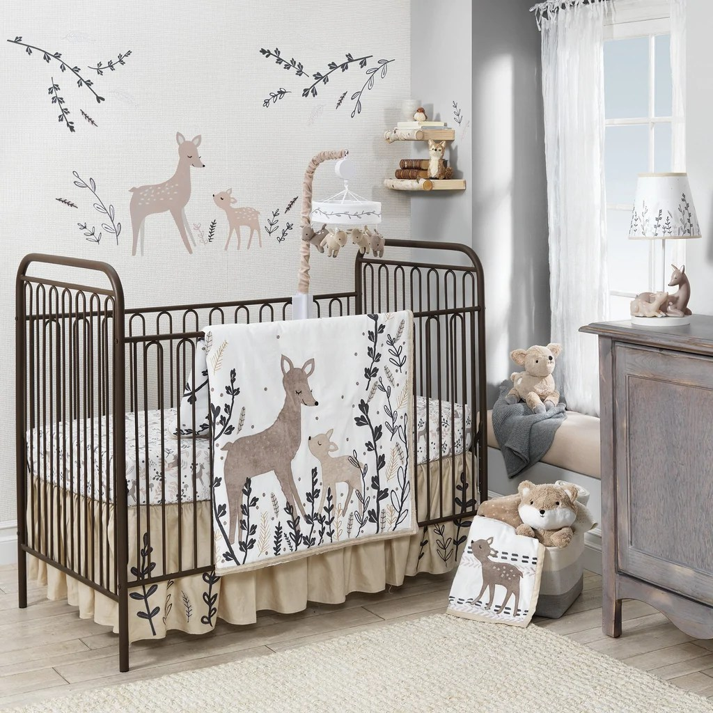 Full Crib Bedding Sets Lambs Ivy Meadow 3pc Crib Bedding Set Cullen S Babyland Playland