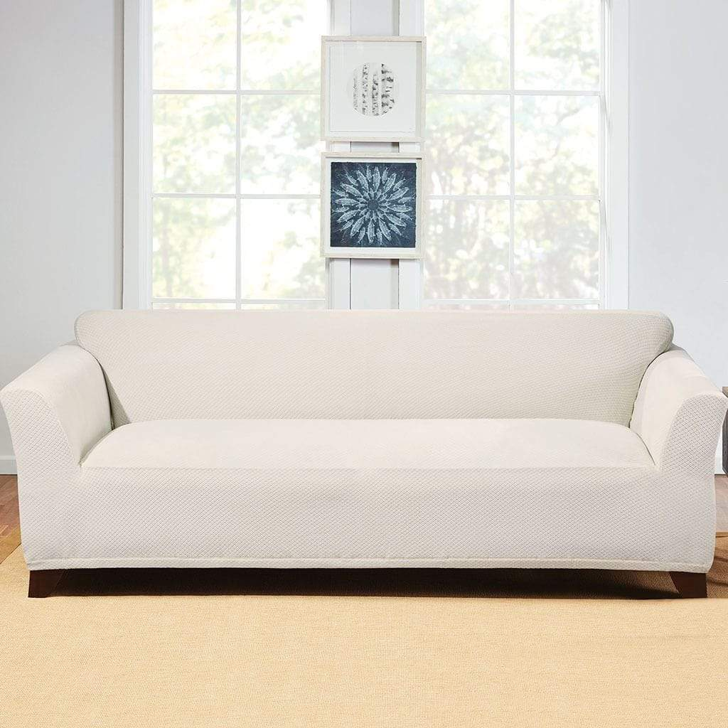 Hudson Sofa Collection Reviews Stretch Hudson Sofa Slipcover One Piece Machine Washable