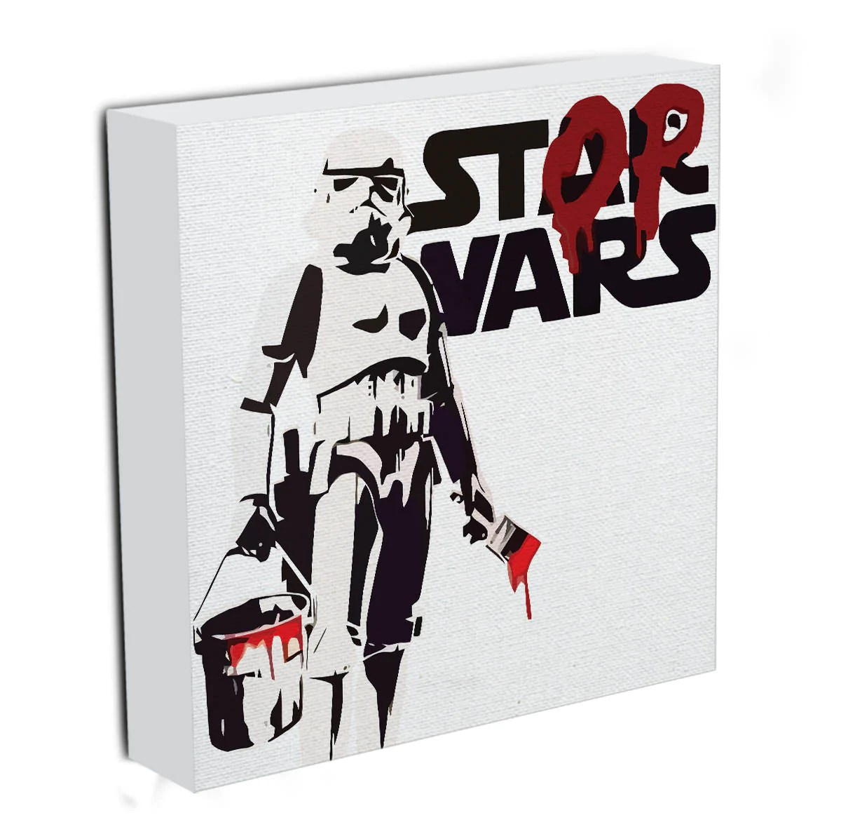 Banksy Canvas Art Banksy Stop Wars Star Wars Canvas Print Or Poster