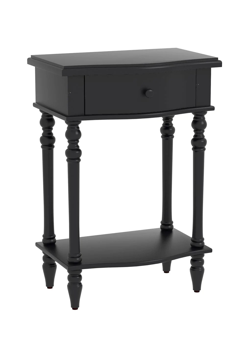 Black End Tables With Drawer Jefferson Accent End Table With Drawer 6 Finishes