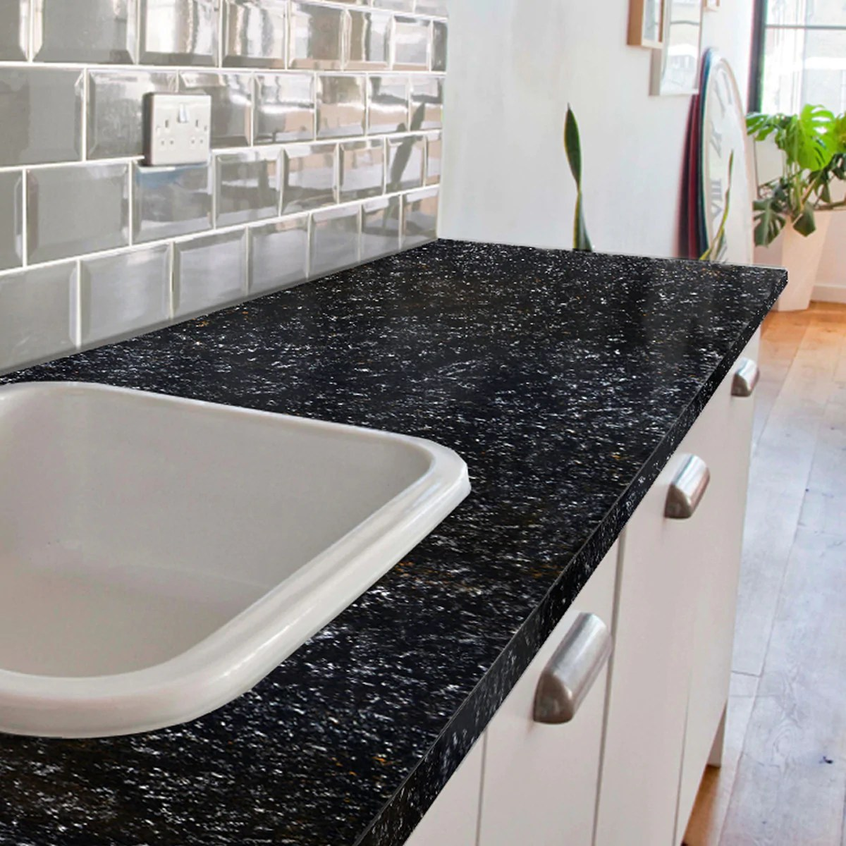 Giani Bombay Black Countertop Paint Kit Giani Inc