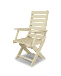 Polywood Captain Dining Chair  Pure Patio