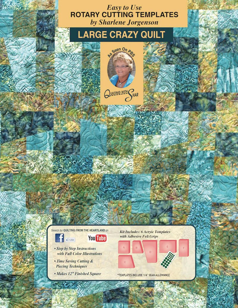 Quilt Cover Sets Sale Crazy Quilt | Quilt Template By Quilting From The Heartland