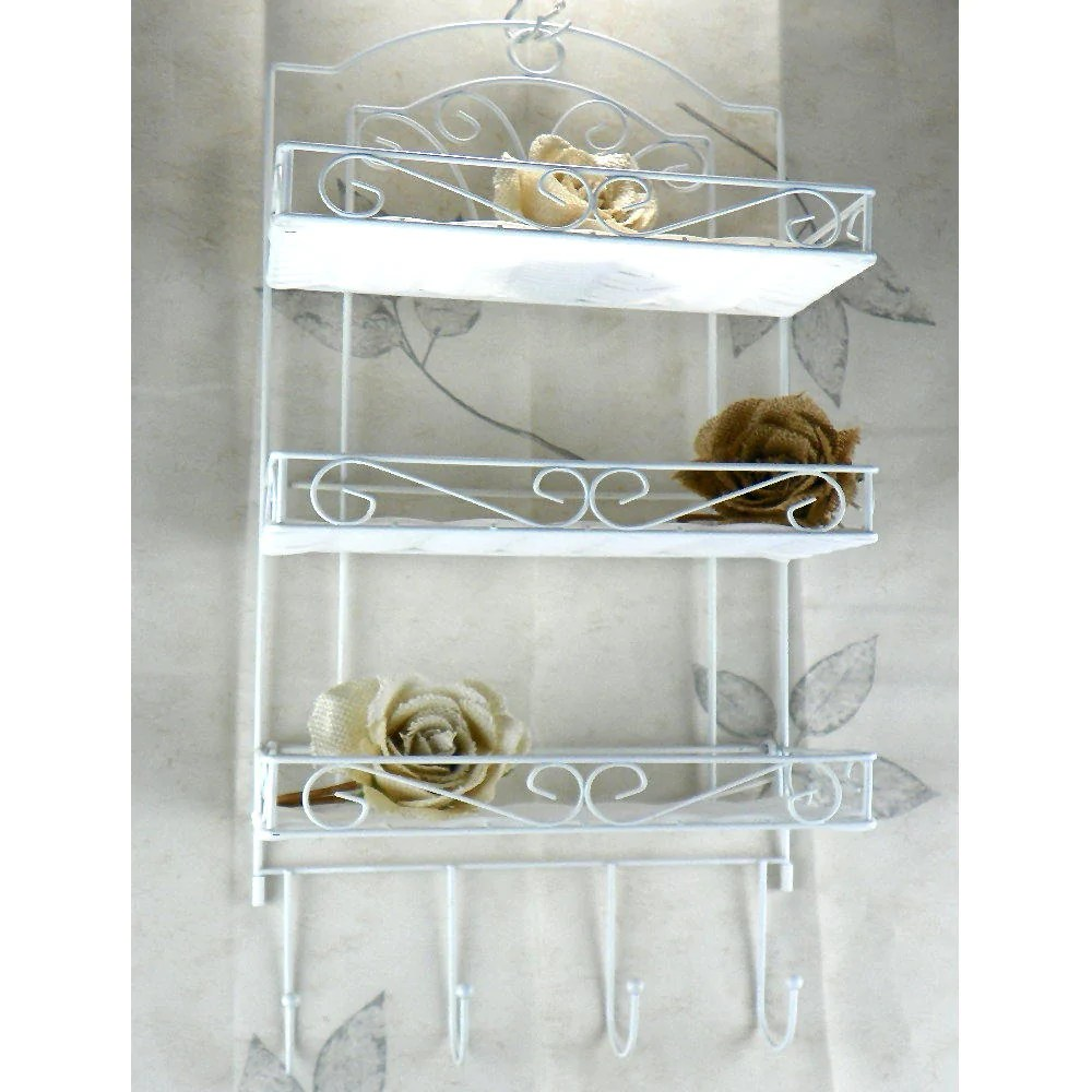 Fullsize Of Metal Bathroom Wall Shelf
