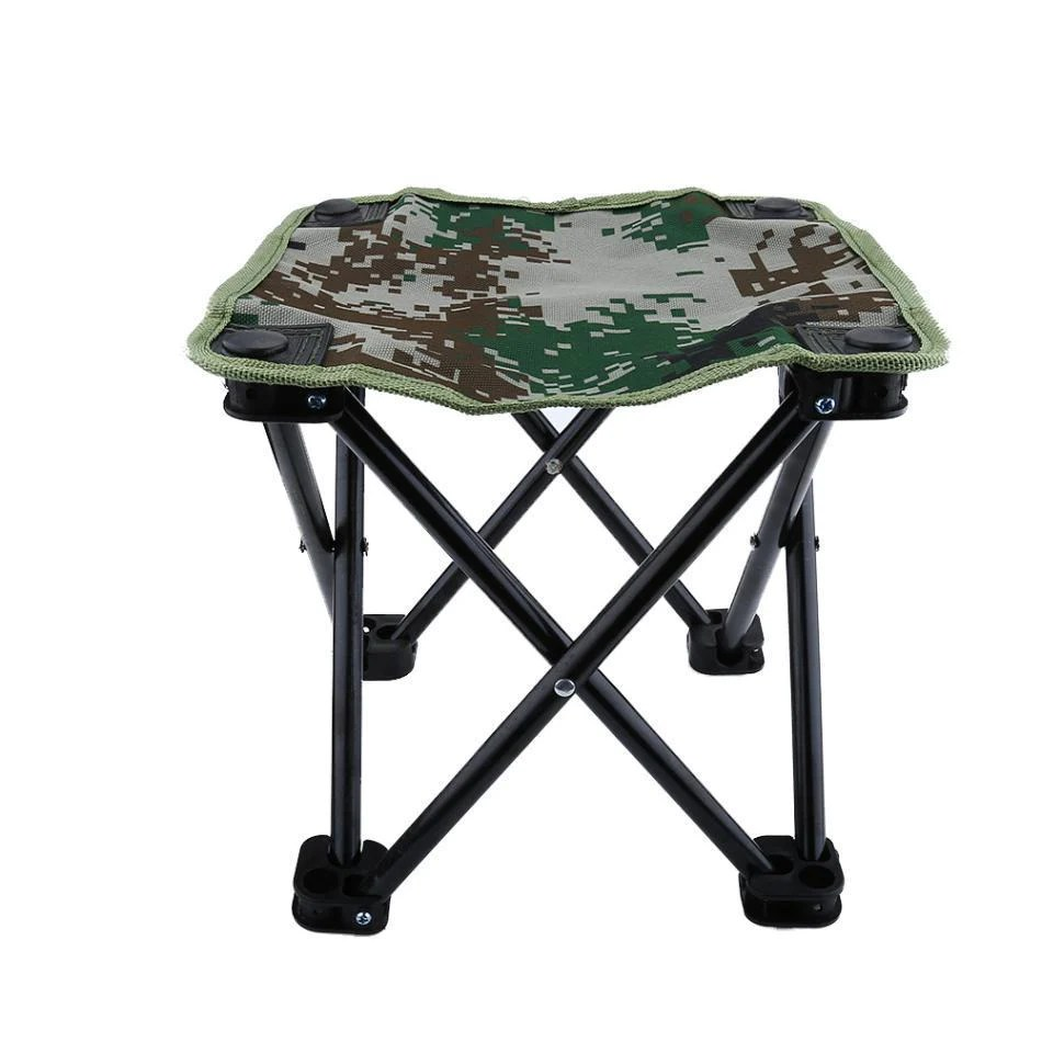 Portable Stool Outdoor Portable Foldable Fishing Stool Beach Chair