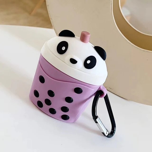 Bulk Rainbow Jewelry We Bare Bears X Boba Airpod Case – Kawaii Nation