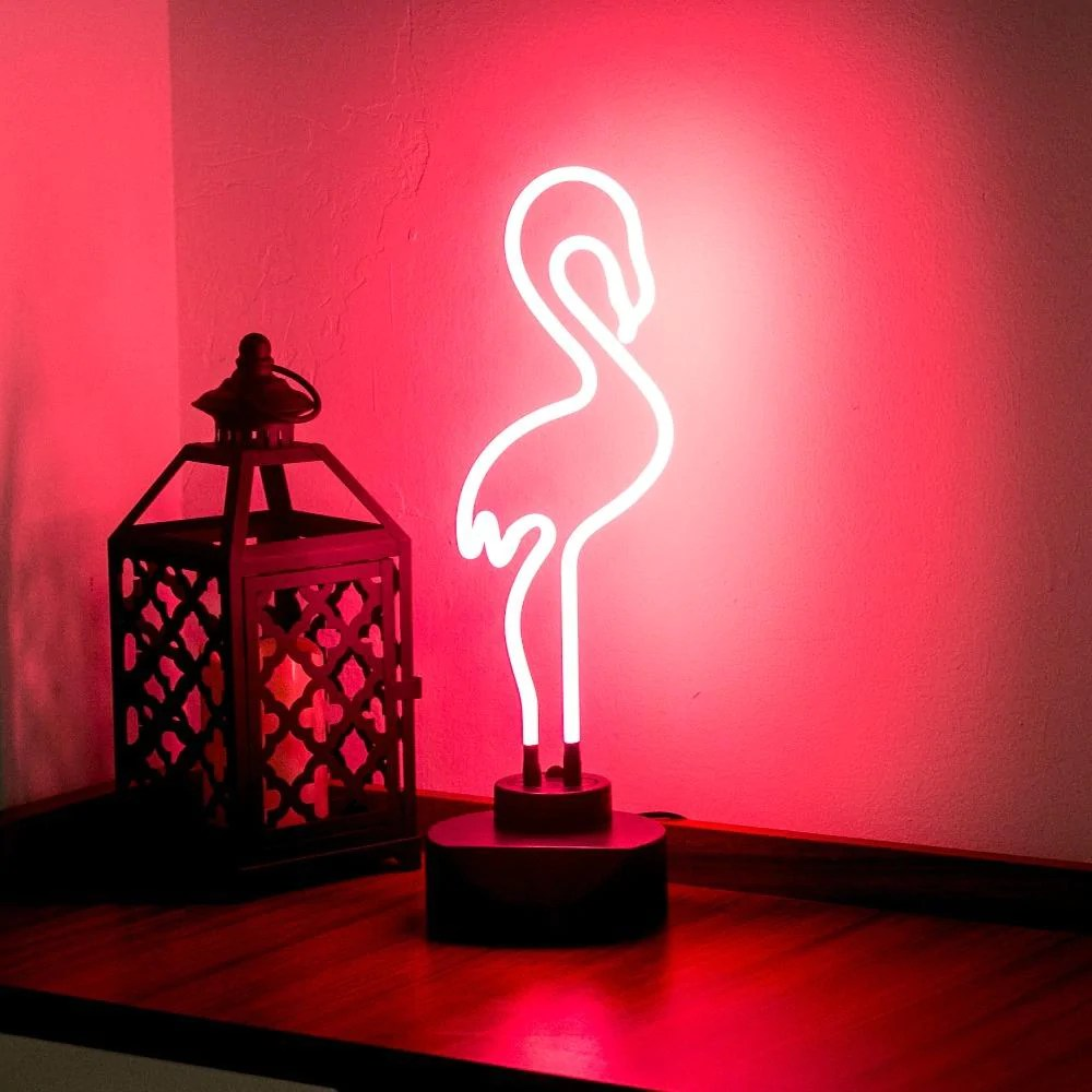 Neon Lamp Flamingo Neon Lamp