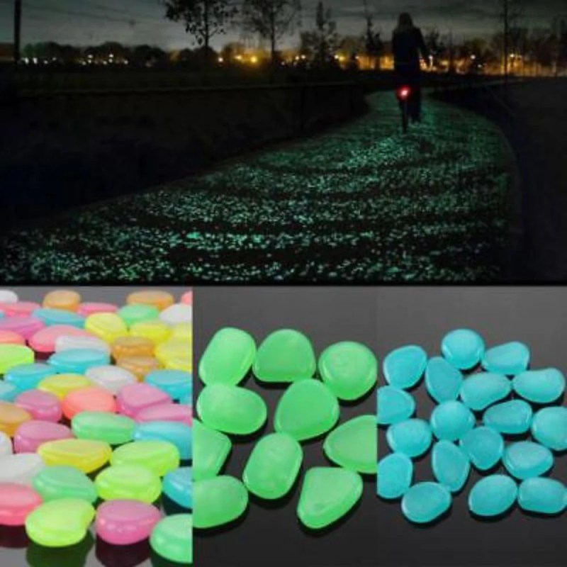 Large Of Glow In The Dark Pebbles