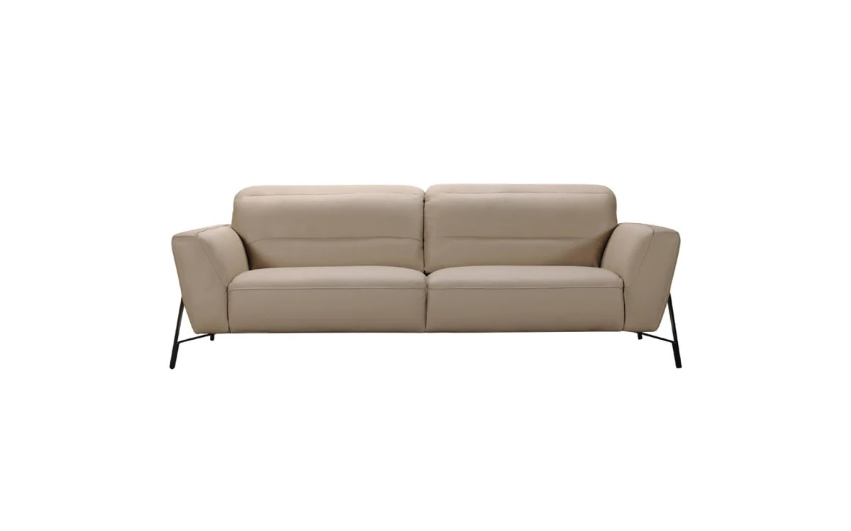 Divani Leather Sofa For Sale Divani Casa Evora Modern Taupe Leather Sofa Chair Set Buy