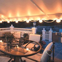 Set of 6 Patio Lights for Awnings | MotorizedAwnings.com
