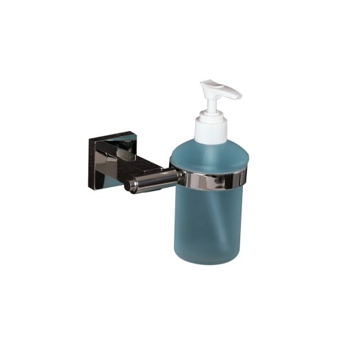 Medium Of Glass Soap Dispenser