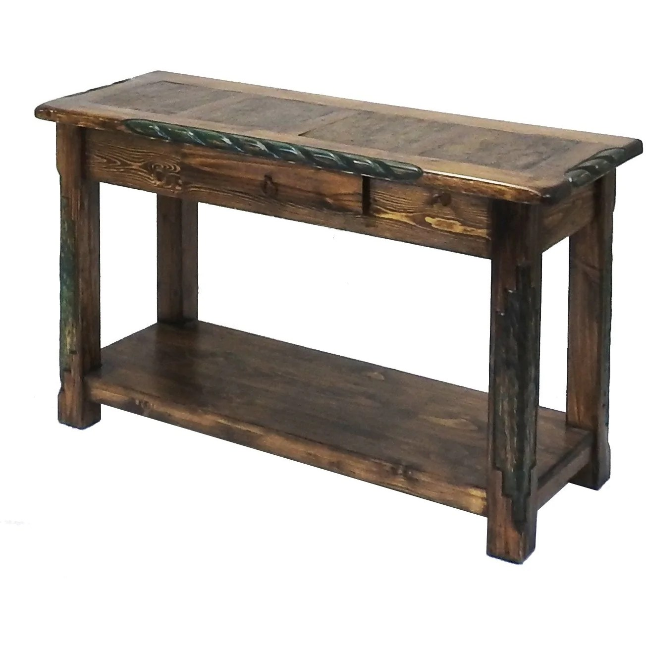 Sofa Table Set Up Southwest Sofa Table Rustics For Less