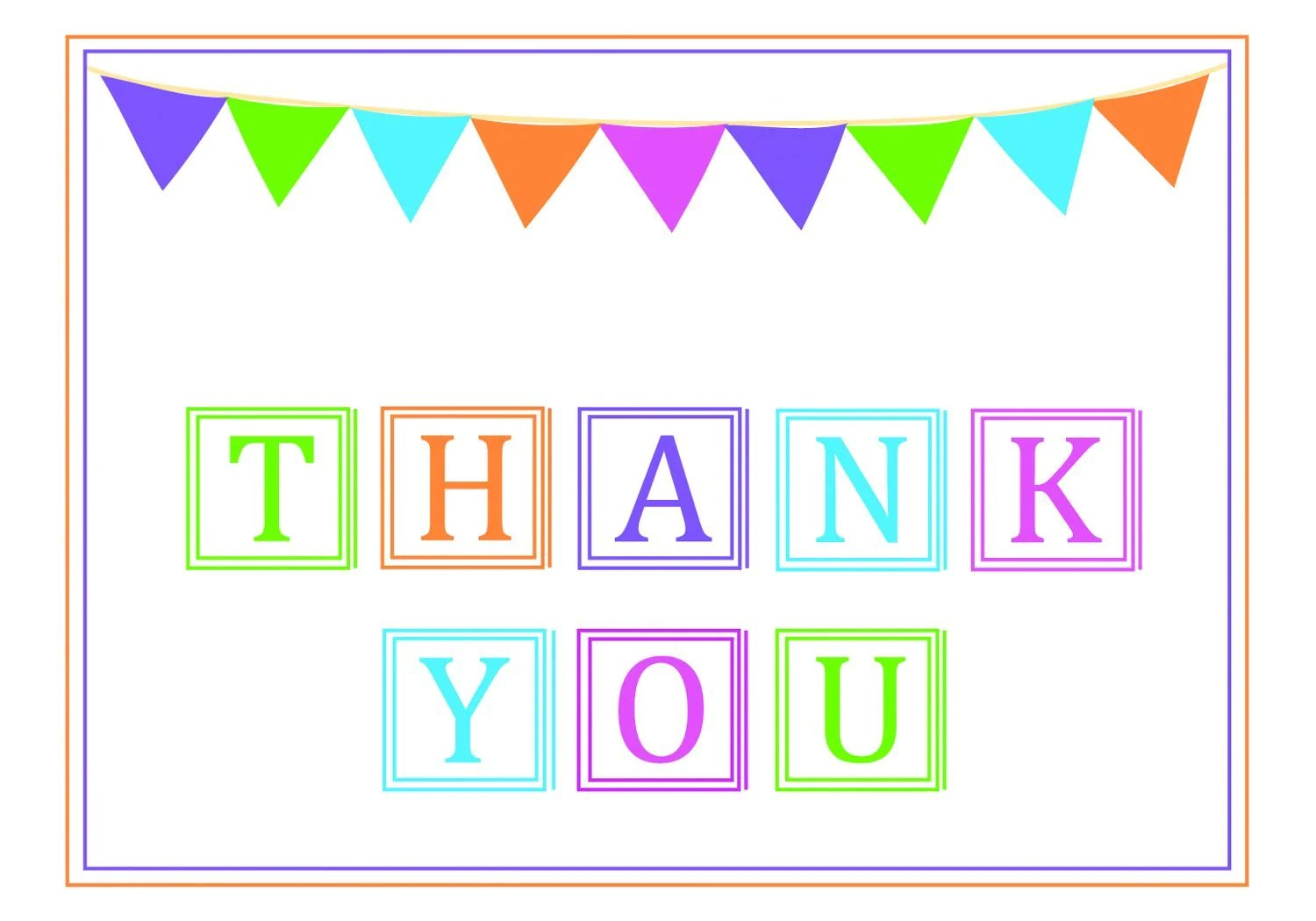 Fullsize Of Thank You Banner