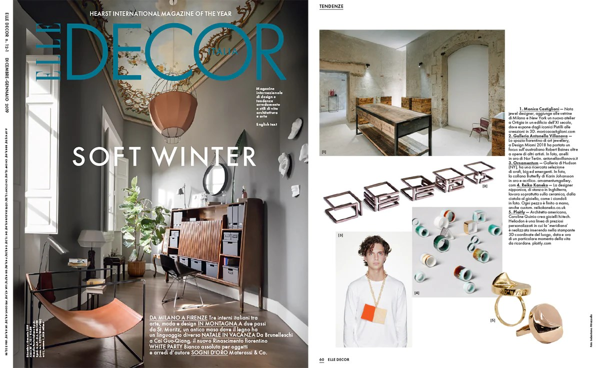 Elle Decor Italia Plaitly In Elle Decor Italia