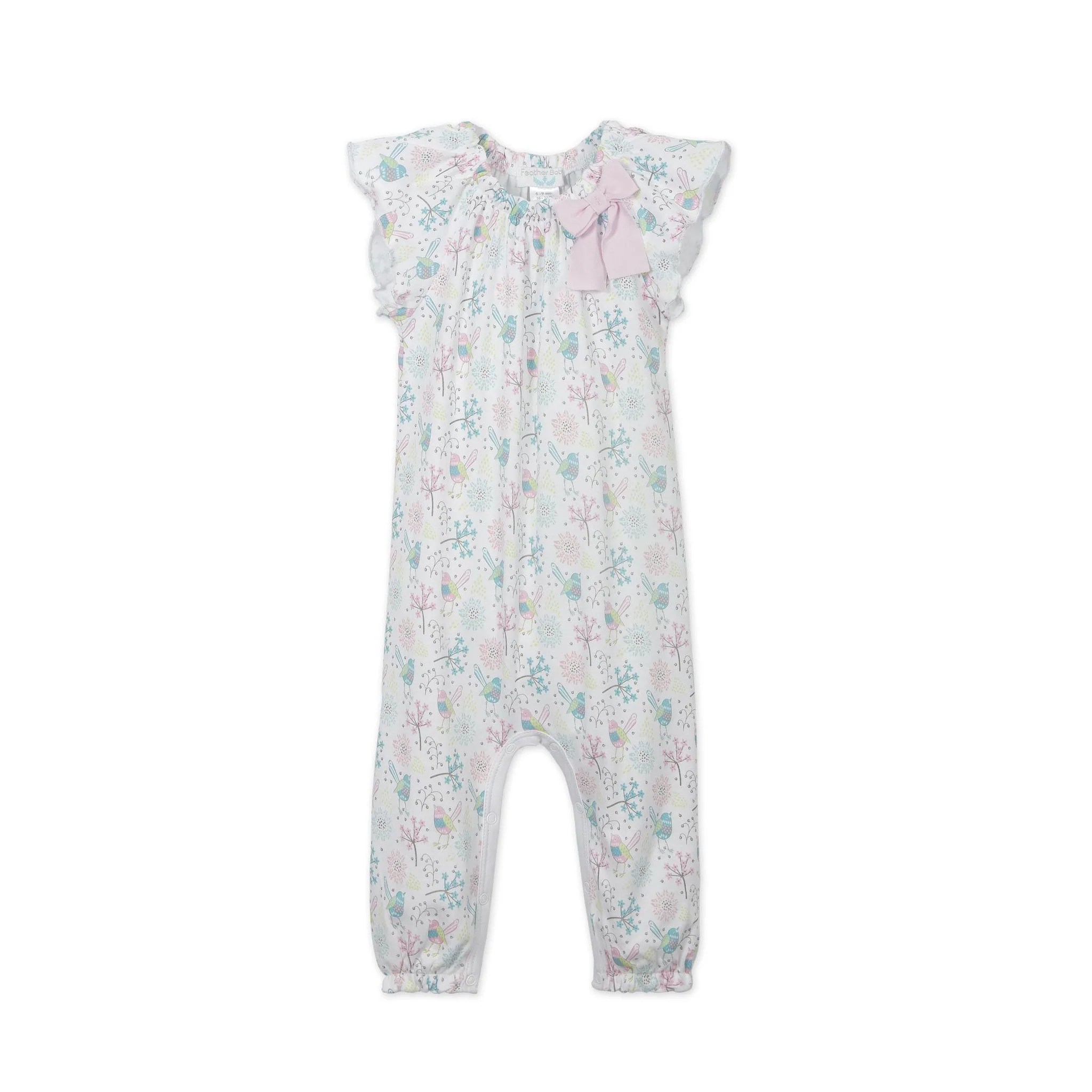 Baby Regal Regal Bird Bow Romper