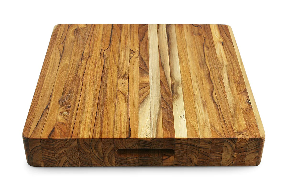 Extra Large Wooden Chopping Board Terra Teak Extra Large Wood Chopping Block Thirteen Chefs