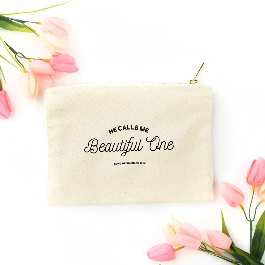 Beautiful One Beautiful One Canvas Pouch Rad Tribe