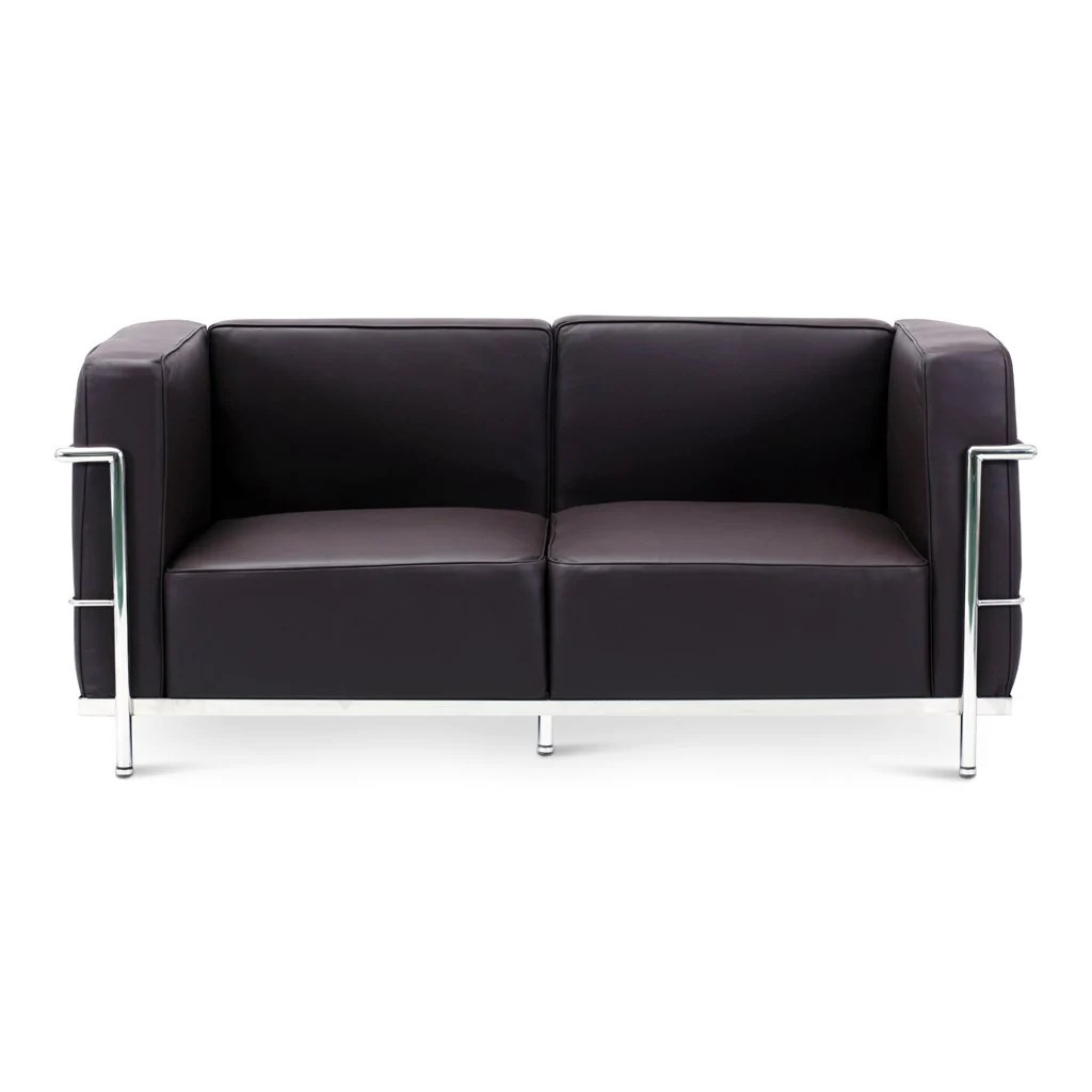 Futon Factory Paris Le Corbusier Lc3 Loveseat