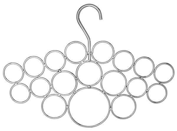 18 Loop Scarf Hanger Chrome Blenderpartsusa