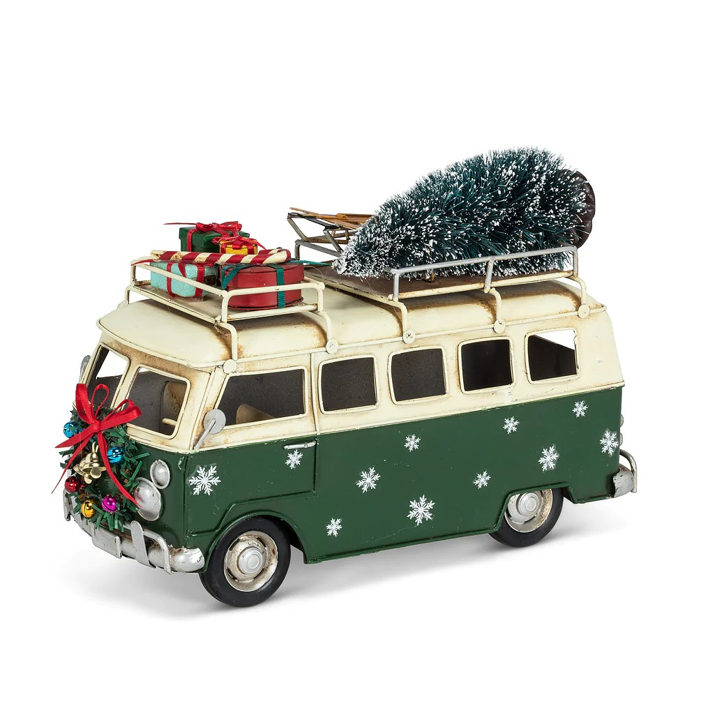 Micro Prix Large Micro Bus With Tree Gifts
