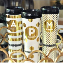 Small Crop Of Personalized Travel Mugs