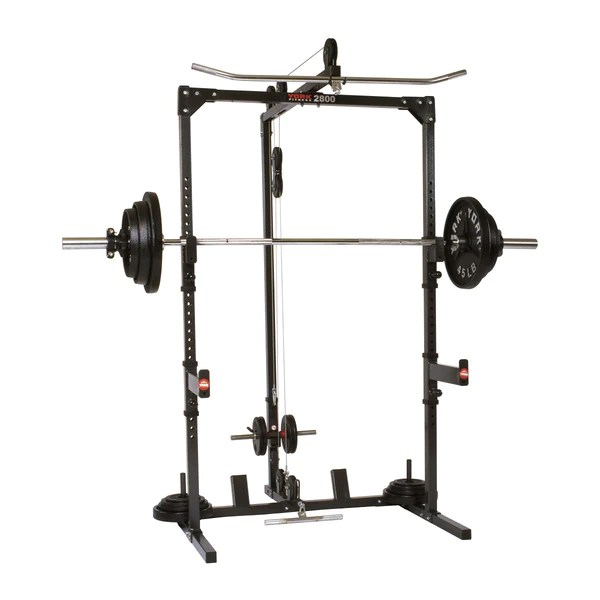 York Fitness 2800 Power Cage Power Squat Stand