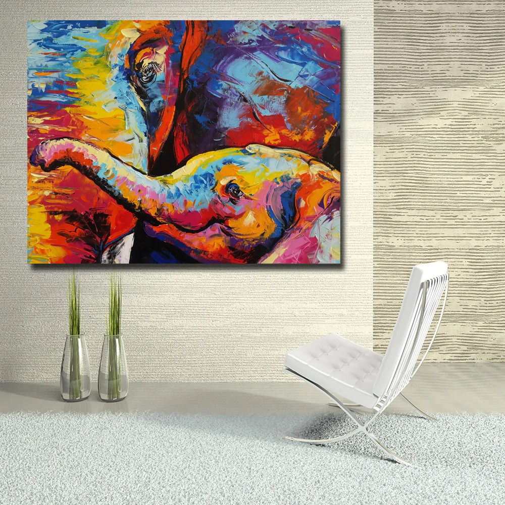 Wall Prints For Living Room Australia Home Décor Abstract Modern Oil Painting Pop Art Canvas Print Wall