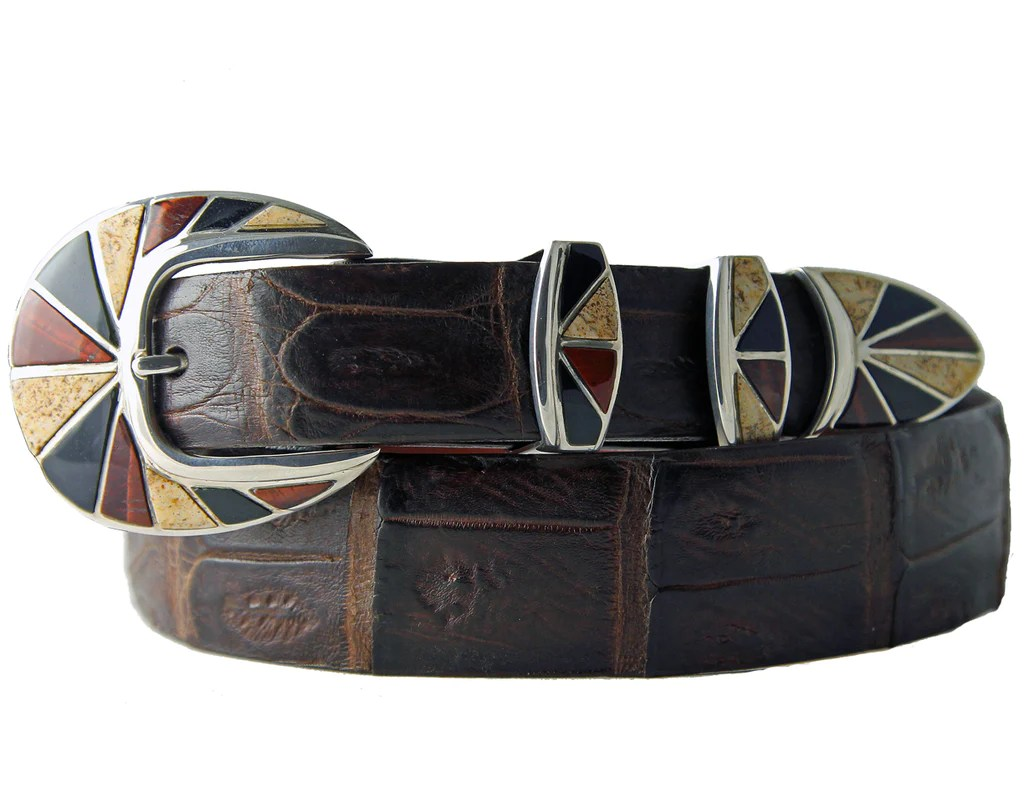 Buckle Tip Sets Tom Taylor Belts Buckles Bags Tolino Southwestern Sterling Silver Belt Buckle Set Tom