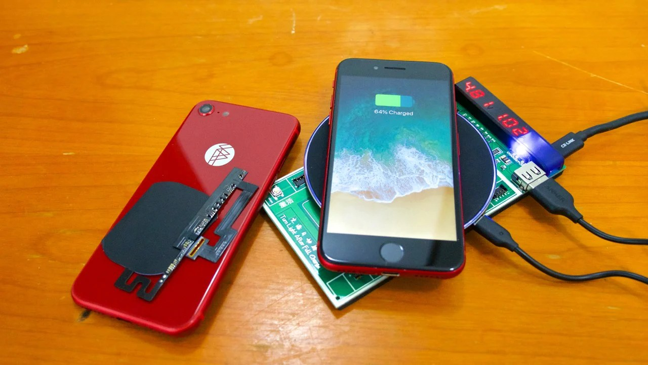 Wireless Charging Iphone Strange Parts Iphone 7 Wireless Charging Kit