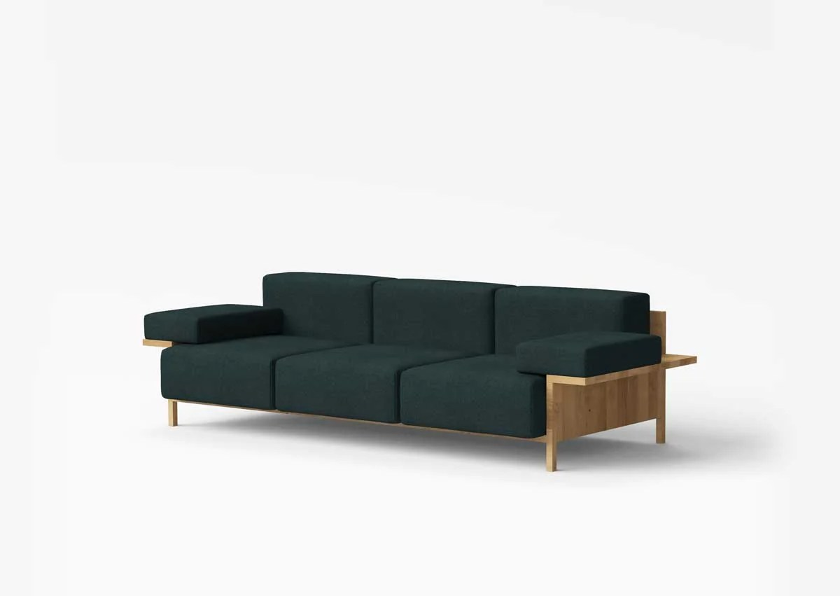 Big Sofa Petrol Mooner Sofa Sofa Designed By Studio David Thulstrup Common Seating