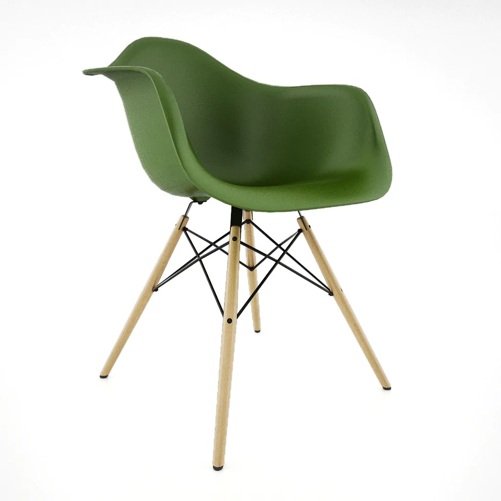 Vitra Eames Armchair Free Vitra Eames Plastic Armchair Daw 3d Model Facequad