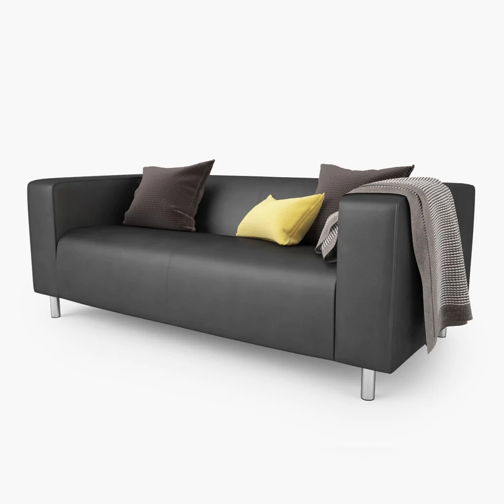 Ikea Sofa Klippan Free Ikea Klippan Loveseat Sofa 3d Model Facequad