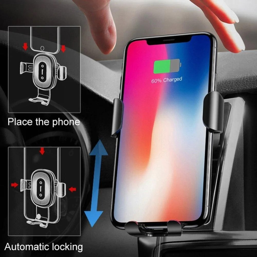 Handy Qi Apple Quince Baseus 10w Qi Wireless Car Charger Phone Holder Review