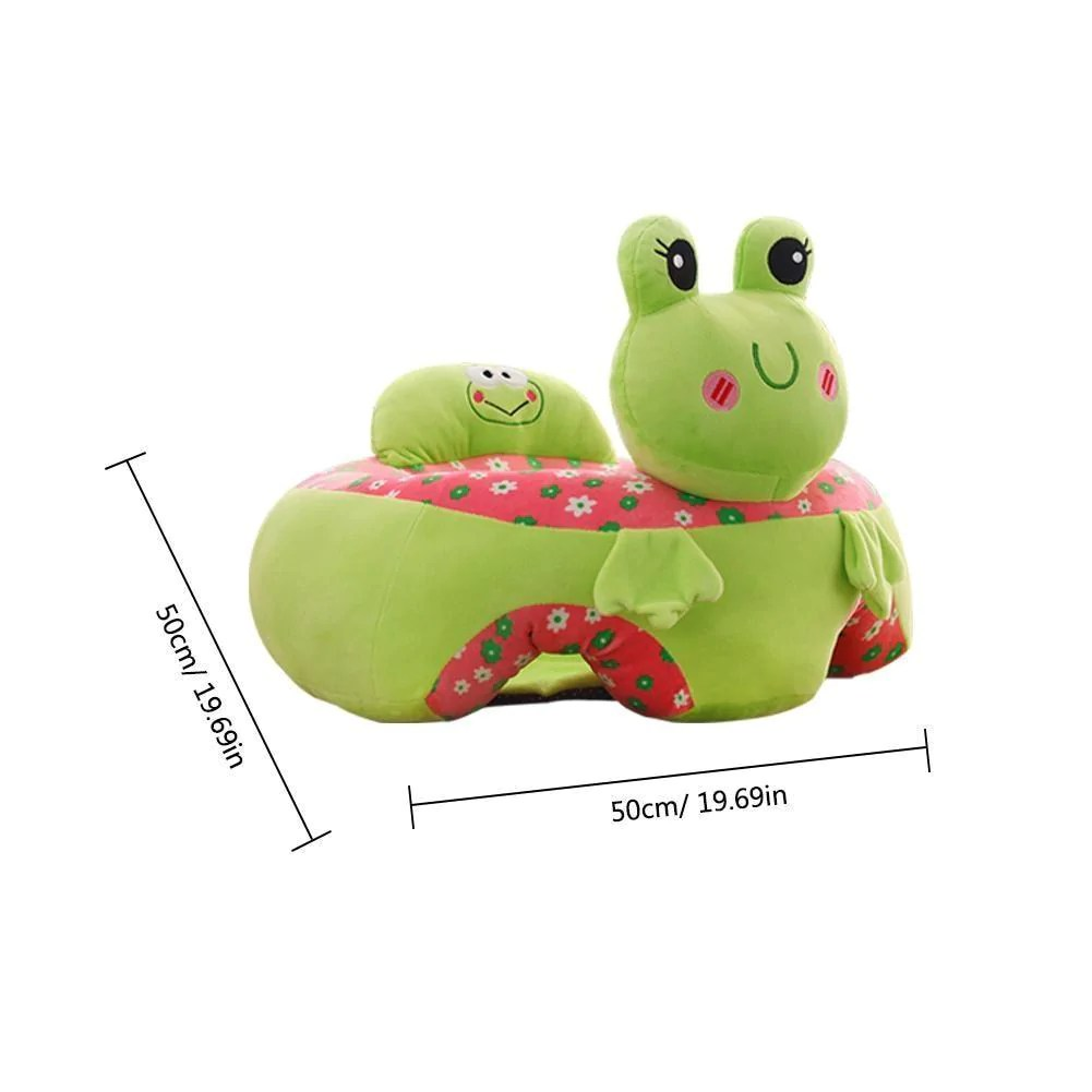 Infant Learning Chair Plushsofa Colorful Infant Baby Learning Seat Sofa Portable Plush Chair
