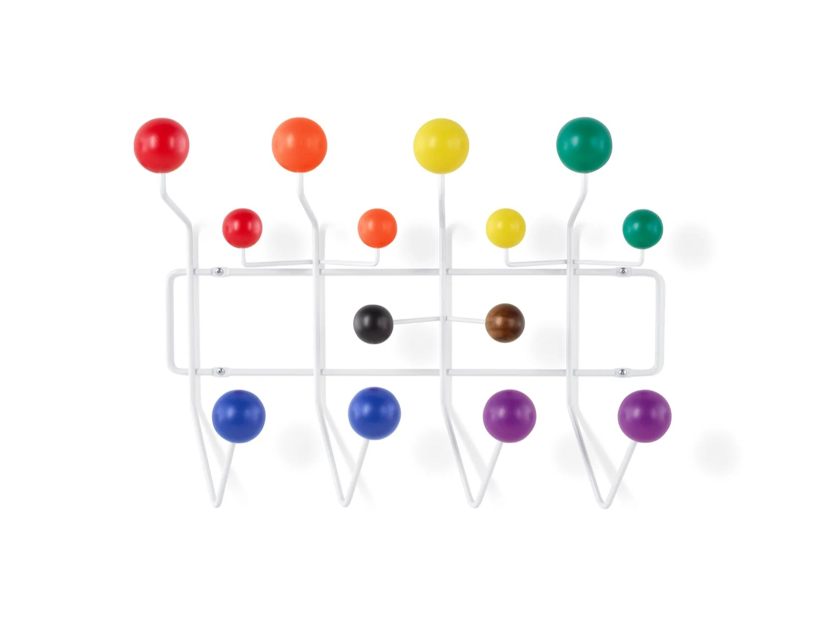 Eames Hang It All Designed By Charles And Ray Eames Produced By Herma Lennox Harvey