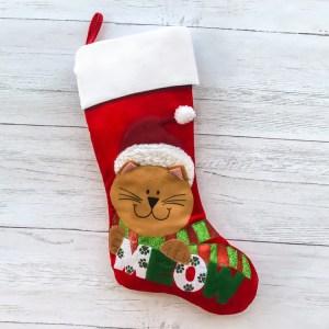 Comely Meow Velvet Pet Stocking Gigi Seasons Stockings Toys Cat Stockings Uk Pet Stockings Cat Stocking