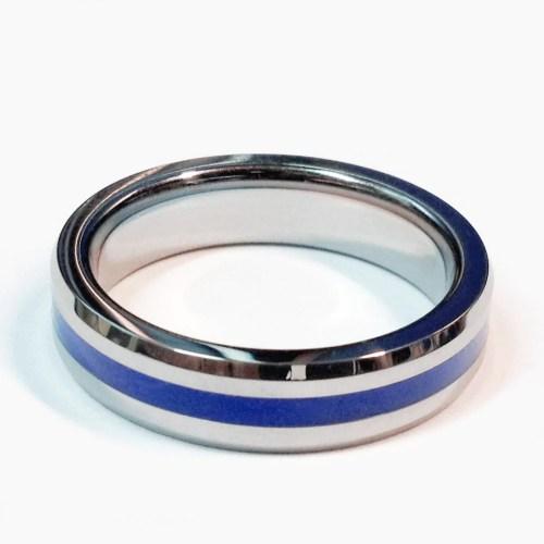Medium Of Thin Blue Line Ring