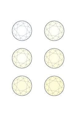 Small Of Diamond Color Chart