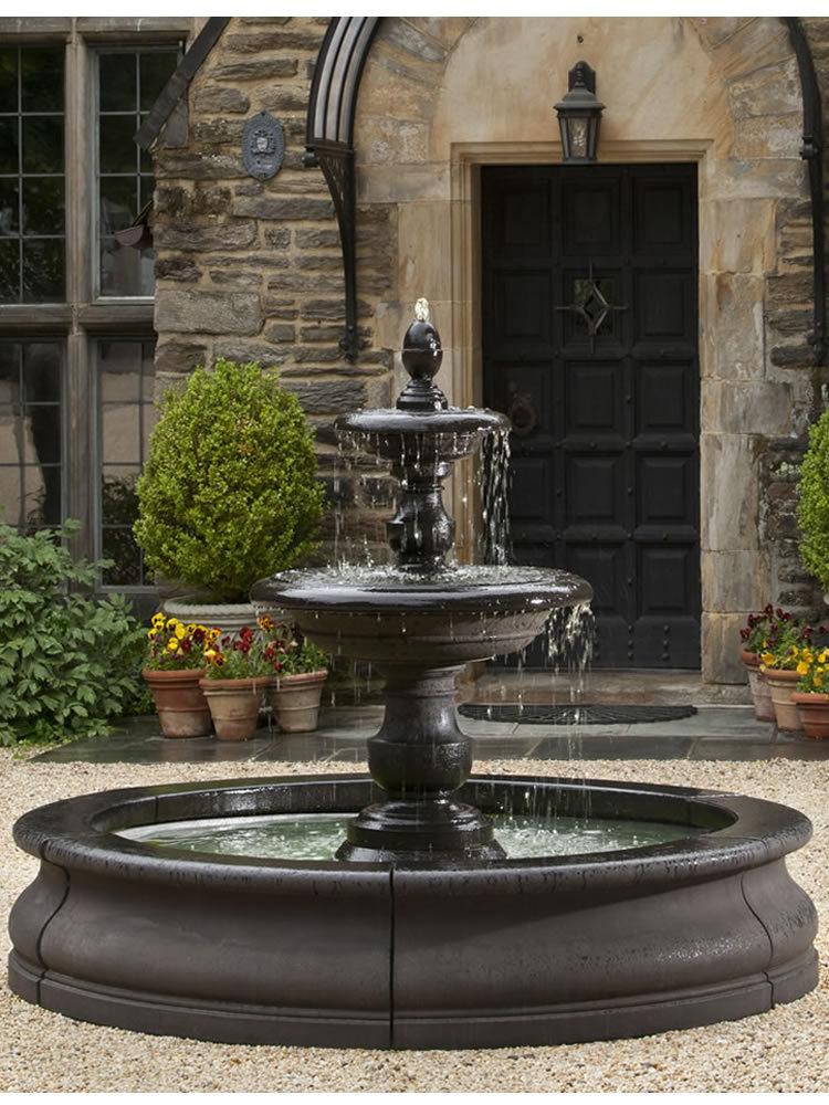 caterina fountain in basin u2013 garden