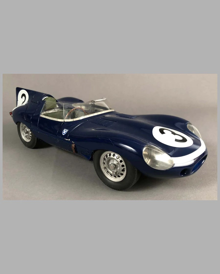 Jaguar Xj13 Blueprint Jaguar D Type Ecurie Ecosse Model Hand Built By Jack Harper
