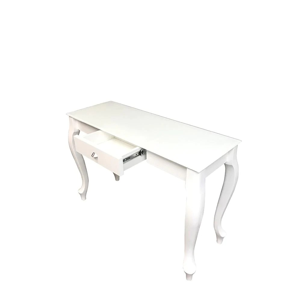 Glass Top Console Table Retro Glass Top Console Table