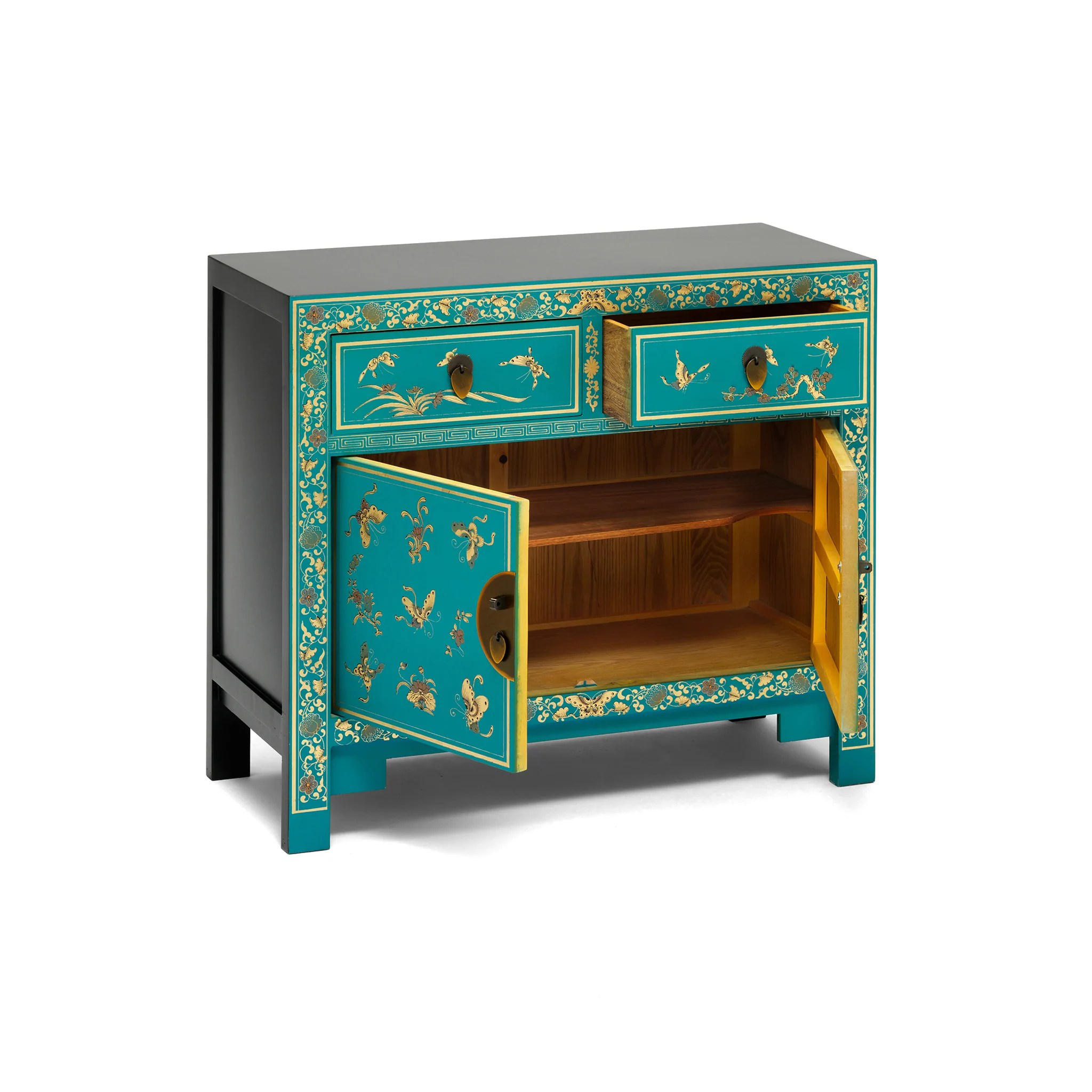 Sideboard Bilder Oriental Decorated Blue Sideboard