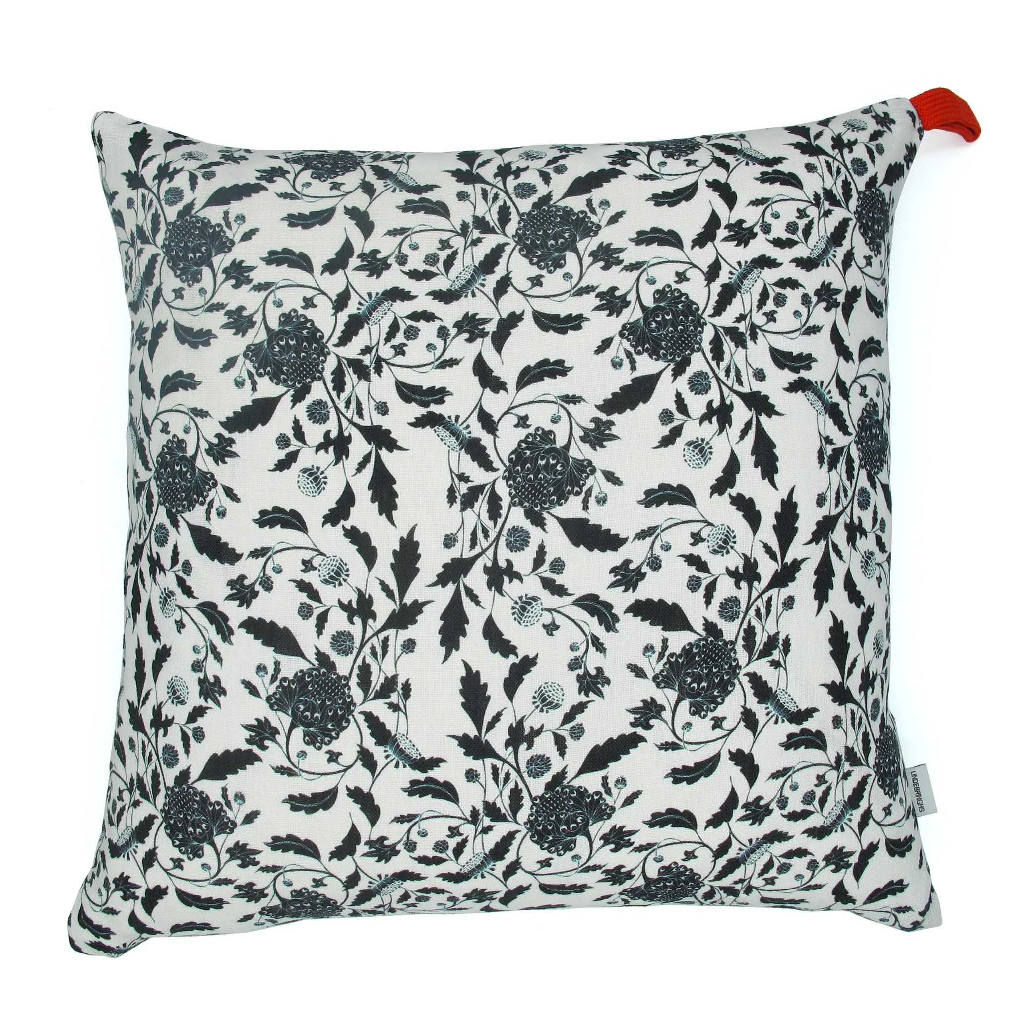 Housse Grand Coussin Grand Coussin Black William Lindebringhs